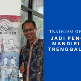 Training of Trainers Jadi Pengusaha Mandiri (JAPRI) Trenggalek 2020