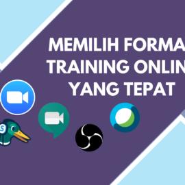 Memilih Format Training Online Yang Tepat